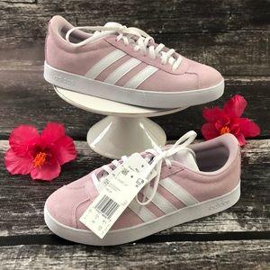 ADIDAS VL Court Women's Sneakers 👟 Size 7 🌸 NIB